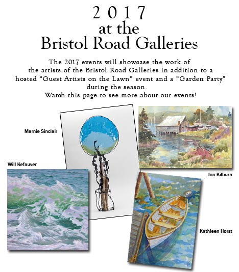 Bristol Road Galleries 2017 events Will Kefauver